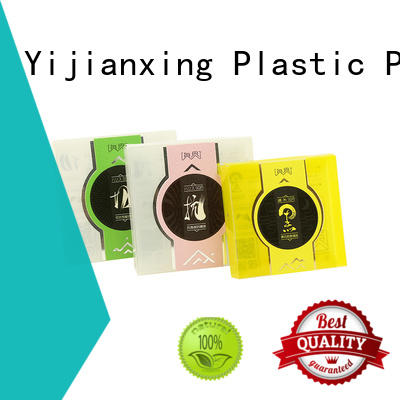 semitransparent plastic packaging box widely-use for product packaging Yijianxing Plastic Products