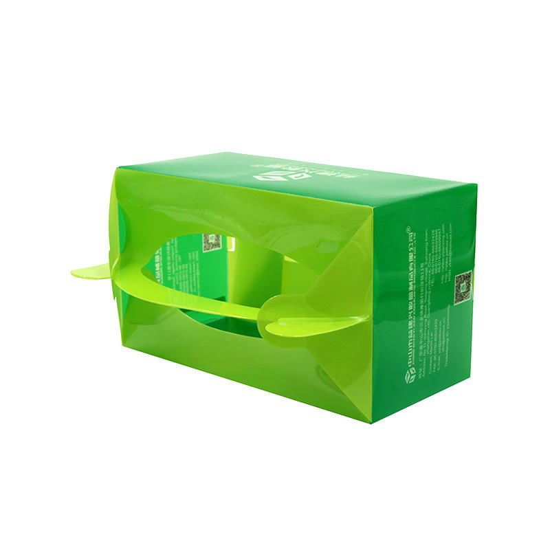 Yijianxing Full Color Printed Chinese Take Out Style PET Box for Fruits/Sweets
