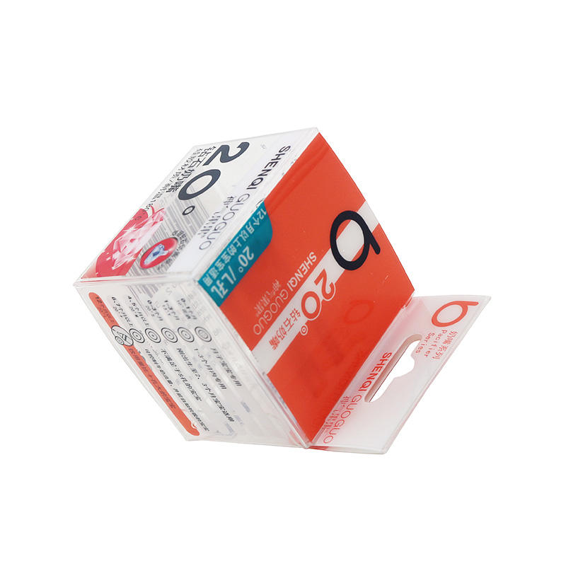 Small Printing Plastic Packaging Box for Bottle Nipple