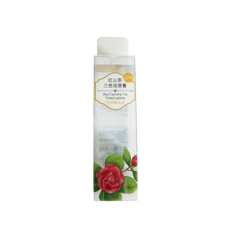 Plastic Printed Packaging without hanger hole for Lip Balm/Cosmetic