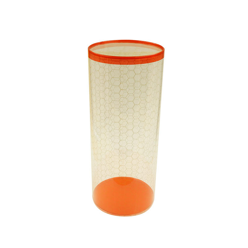 Large Plastic Storage Boxes PVC Cylinder with Lid for Food