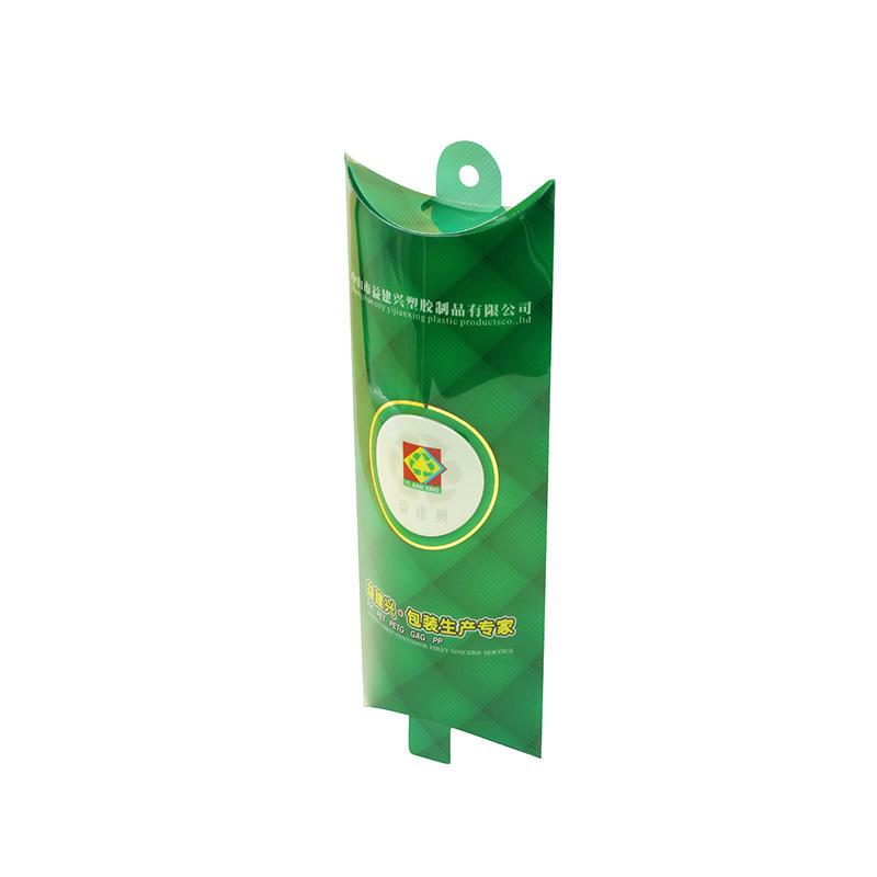 Yijianxing PVC Plastic Pillow Box with Hanger Tab