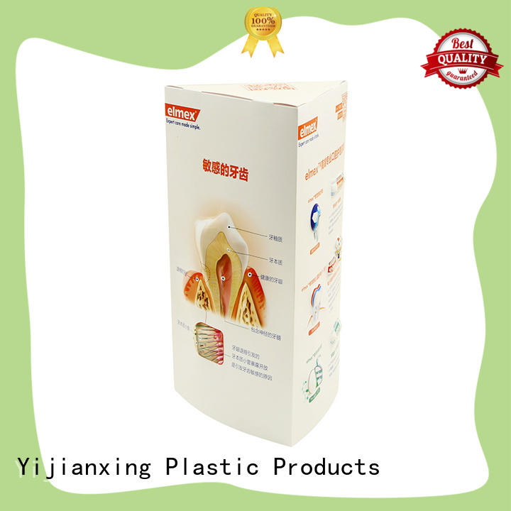 folding clear plastic gift boxes wholesale by Chinese manufaturer for tableware