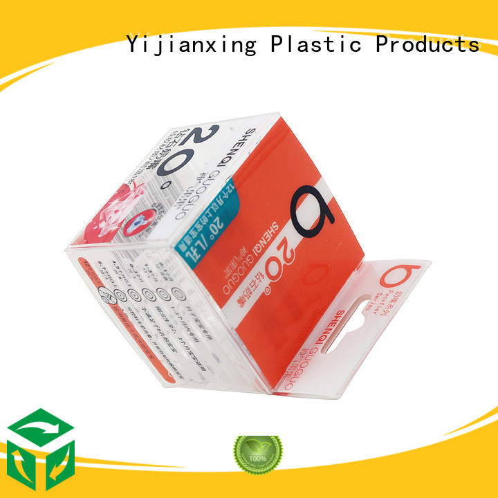 custom plastic packaging container plastic food packaging Yijianxing Plastic Products Brand