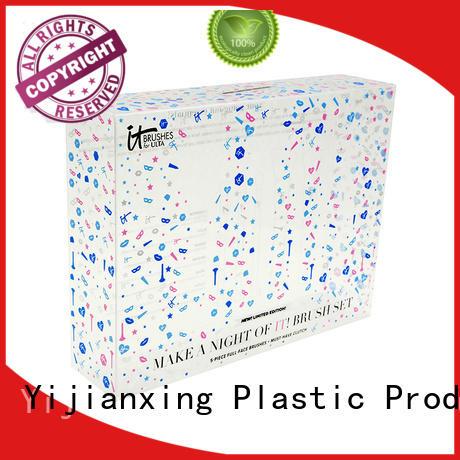 custom plastic packaging folding paper Warranty Yijianxing Plastic Products