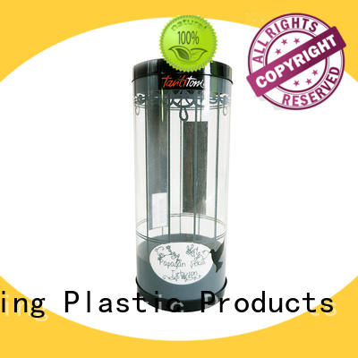 Yijianxing Plastic Products inexpensive clear plastic tubes with end caps small for toys