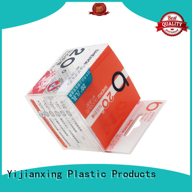 Yijianxing Plastic Products food grade acrylic packaging box protective for protective case