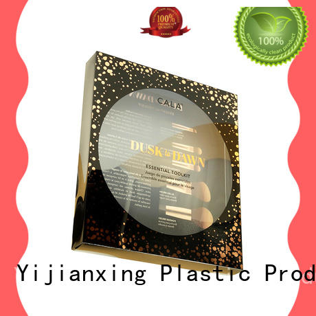 brushes chocolate box packaging widely-use for decor Yijianxing Plastic Products