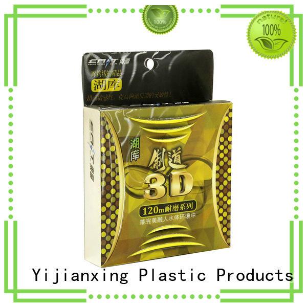 window offset custom plastic packaging earpods logo Yijianxing Plastic Products Brand