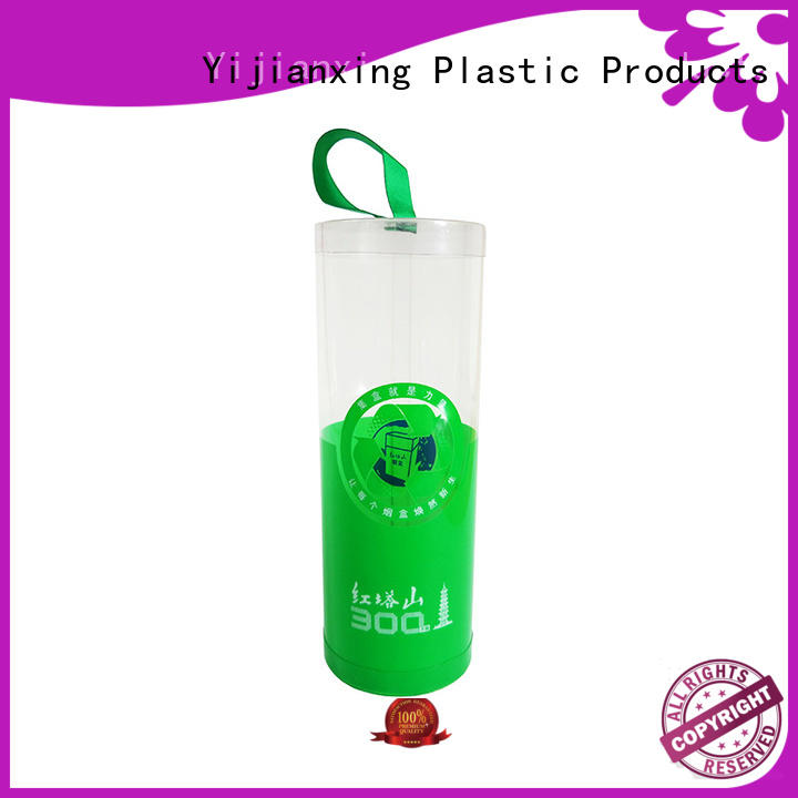 Yijianxing Plastic Products ribbon plastic tubes with caps widely-use for change