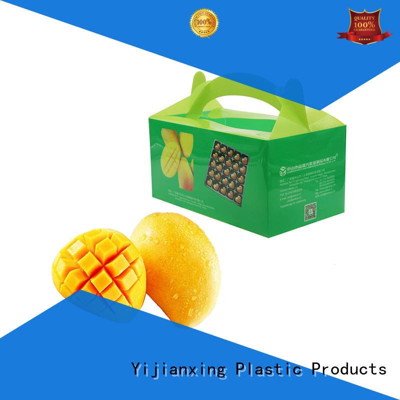 brushes tab bronze OEM plastic food packaging Yijianxing Plastic Products
