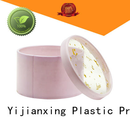 Yijianxing Plastic Products Brand lid large clear plastic tubes with end caps chololate
