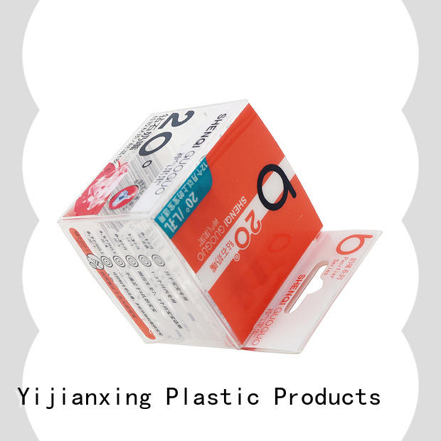 Yijianxing Plastic Products safety cookie packaging boxes widely-use for protective case