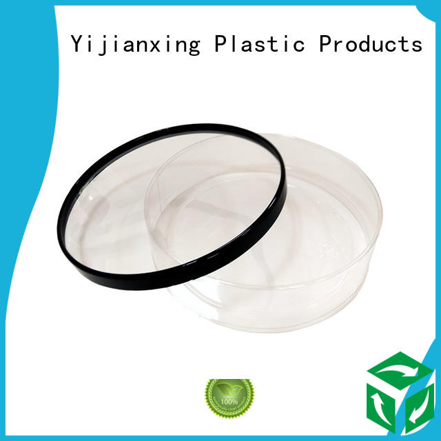 chololate clear caps OEM plastic tube packaging Yijianxing Plastic Products