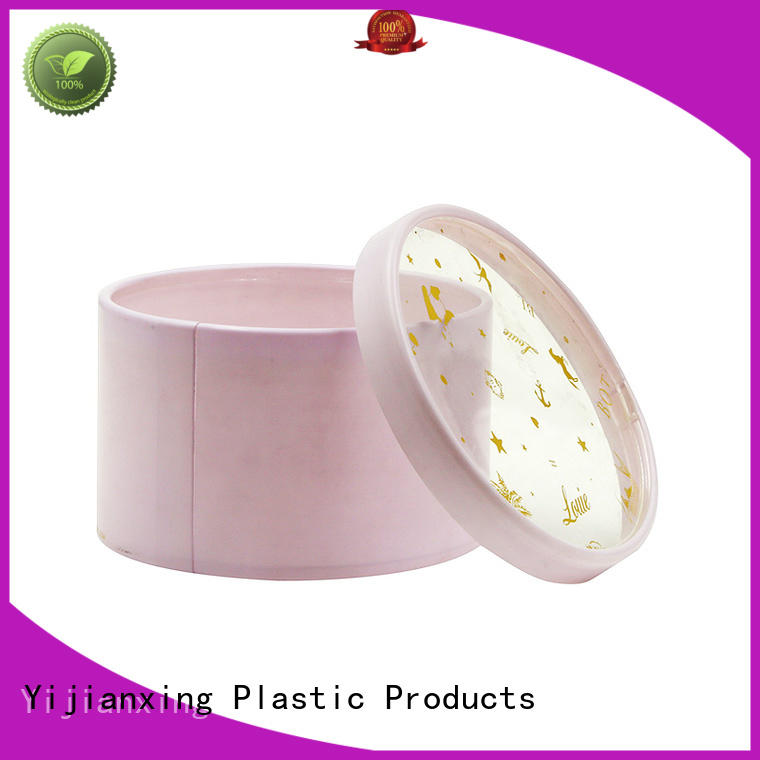 cylinder chololate candy plastic tube packaging Yijianxing Plastic Products