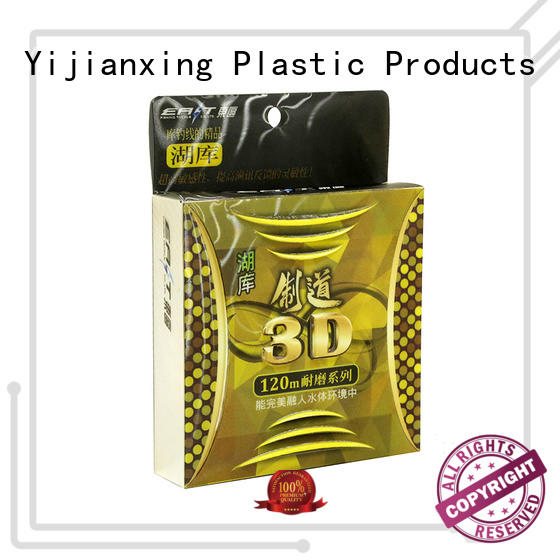 plastic packaging containers clear for decor Yijianxing Plastic Products