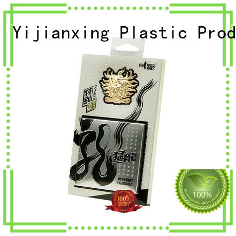 safety plastic packaging box large free design for gift