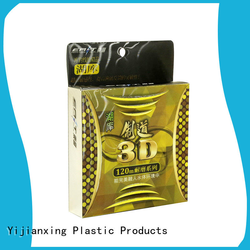 Yijianxing Plastic Products color plastic packaging box with cheap price for gift