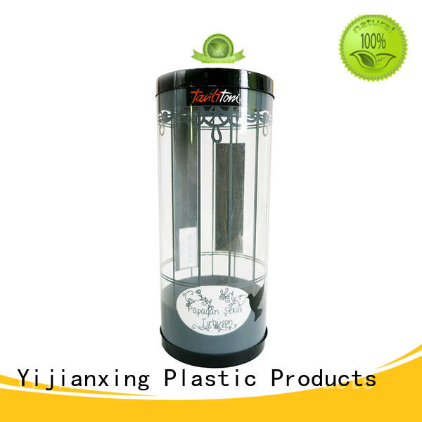 ribbon clear plastic tube packaging Yijianxing Plastic Products Brand