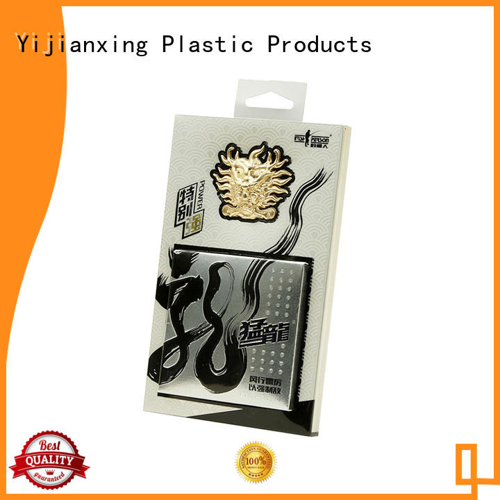 Bronze Plate Plastic Packaging Box with Inserted Paper Box for Fishing Lines