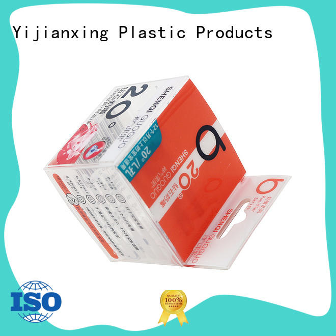 Yijianxing Plastic Products soft clamshell packaging paper for packing