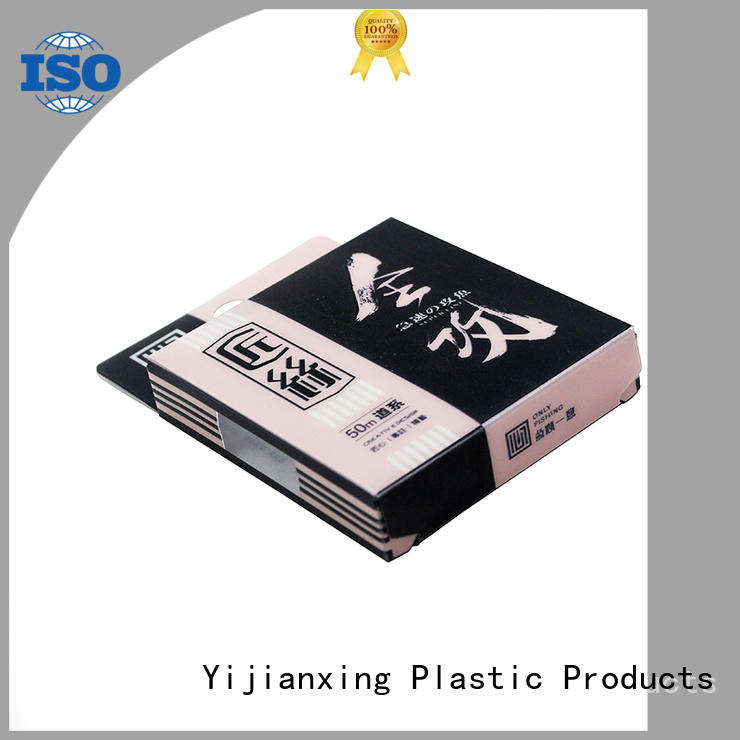 Yijianxing Plastic Products safety clear plastic square case for wholesale for packing