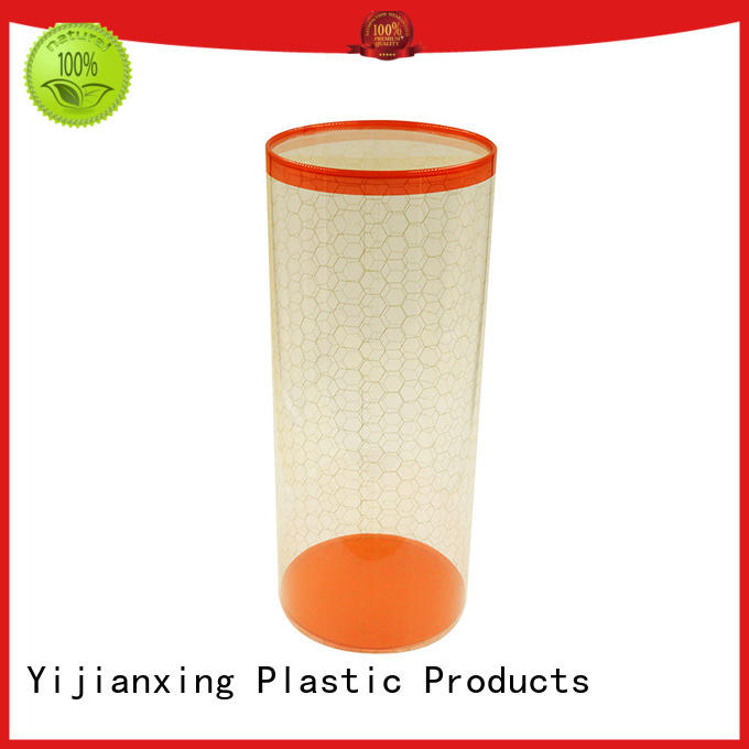 Yijianxing Plastic Products Brand package cylinder clear hanger pvc packaging