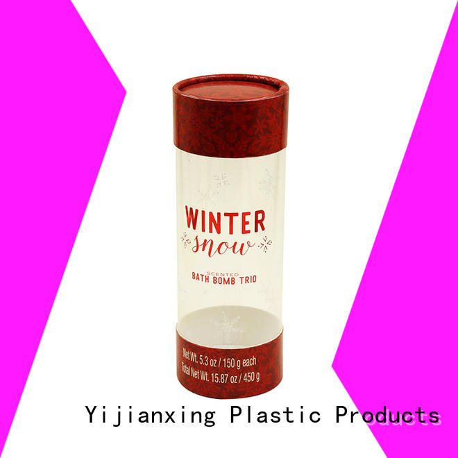 hot-sale plastic tube packaging toys bulk production for biscuits