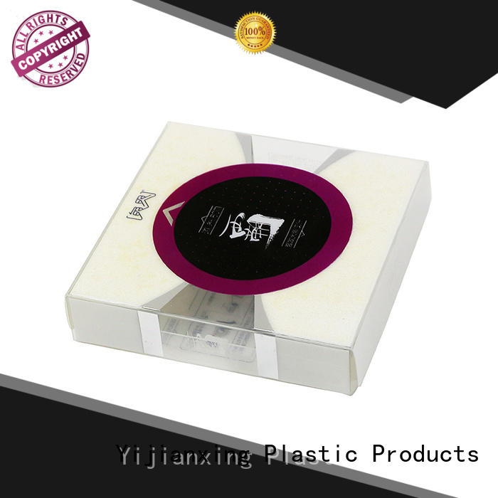 food grade plastic packaging box retail with Quiet Stable Motor for packing