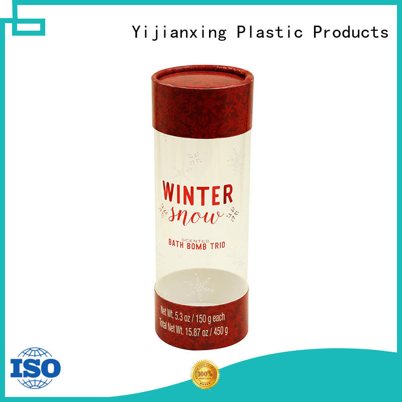 industry-leading clear tube packaging check now for small gift Yijianxing Plastic Products