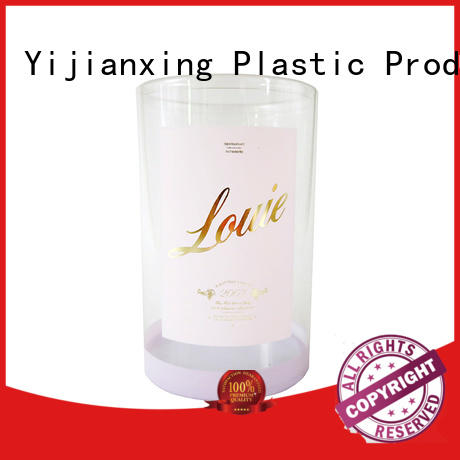 Yijianxing Plastic Products Brand cardboard plastic tube packaging large factory