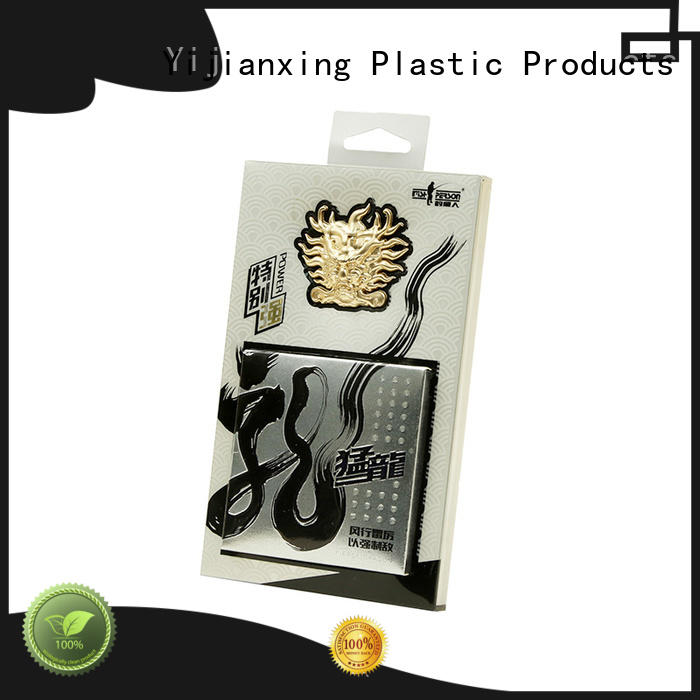 Yijianxing Plastic Products Brand folding embossing custom plastic packaging food supplier
