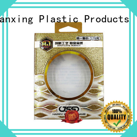 transparent plastic packaging boxes crease for packing Yijianxing Plastic Products