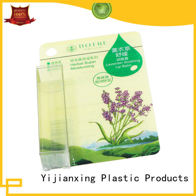 Yijianxing Plastic Products Brand lid transparent clear all pvc packaging