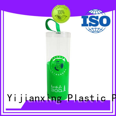 Yijianxing Plastic Products newly customized design plastic tube packaging free design for biscuits