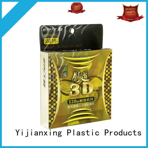 Hot lines plastic food packaging stamping large Yijianxing Plastic Products Brand