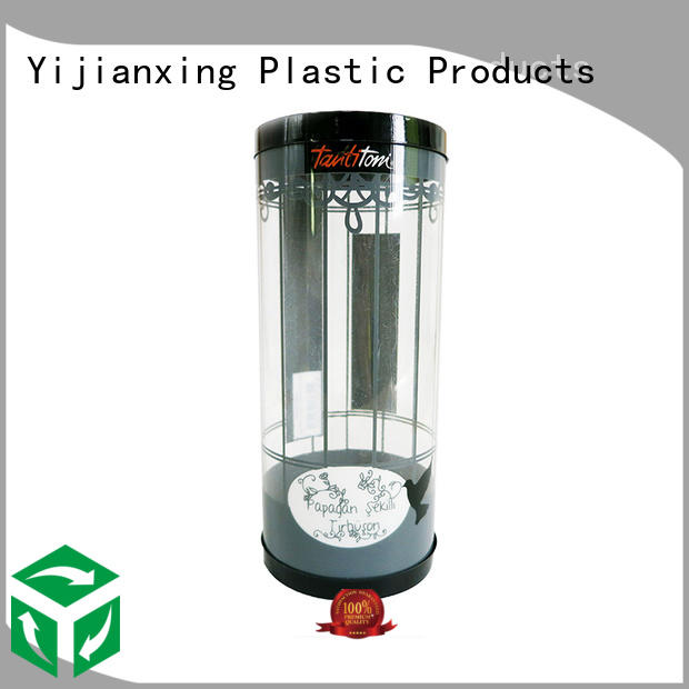 Yijianxing Plastic Products Brand box craft plastic tube packaging manufacture
