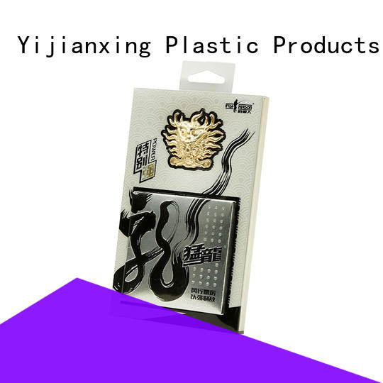 retail clear plastic box packaging closure China Factory for decor