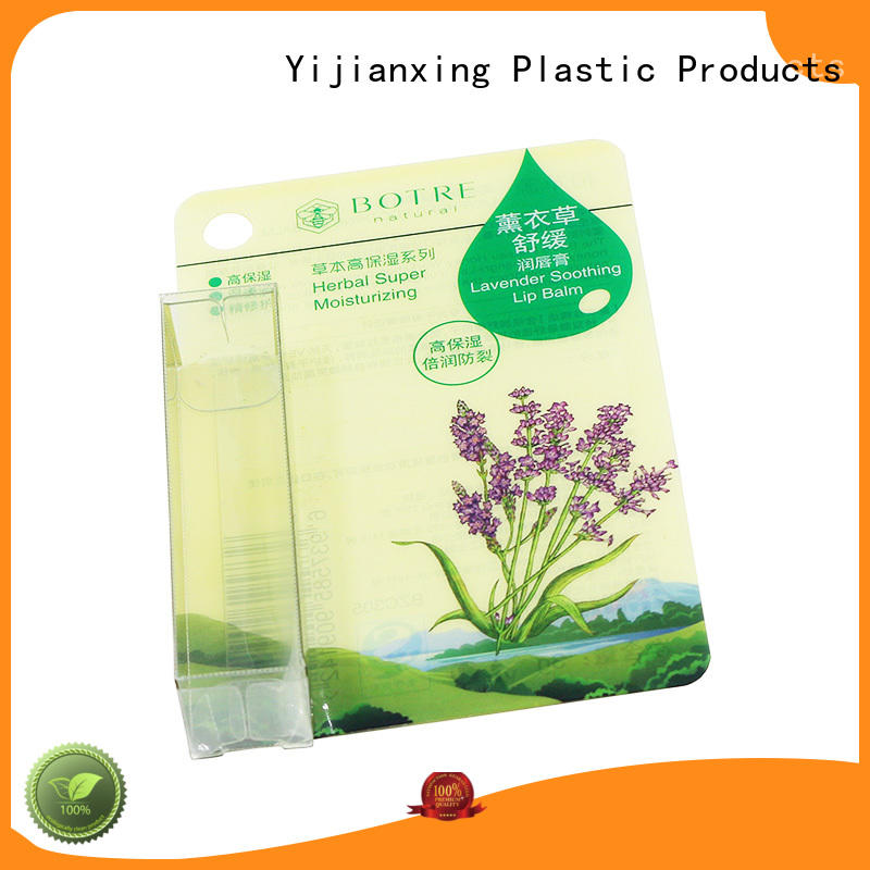 Quality Yijianxing Plastic Products Brand clear packaging storage card