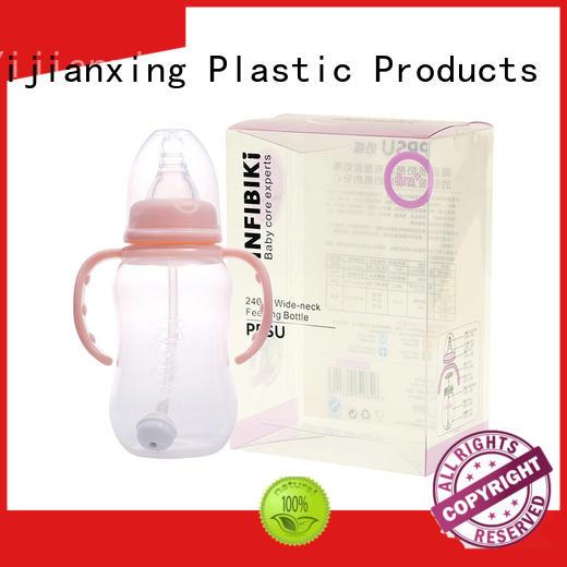 Clear PET Plastic Packaging Box for 240ml Baby Feeding Bottle
