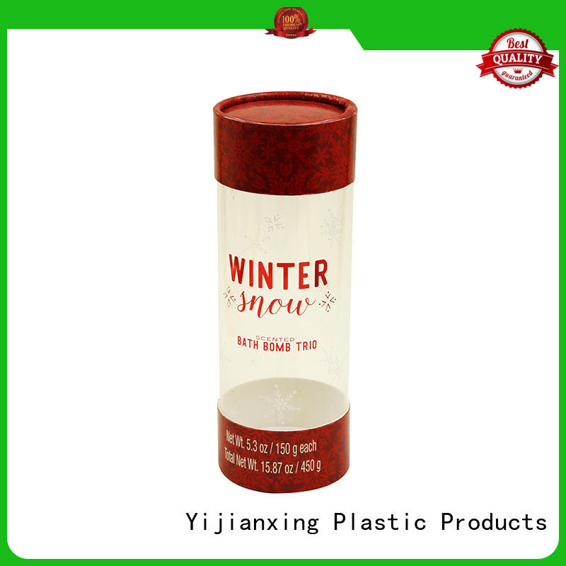 Yijianxing Plastic Products arched customized design plastic tube packaging at discount for craft