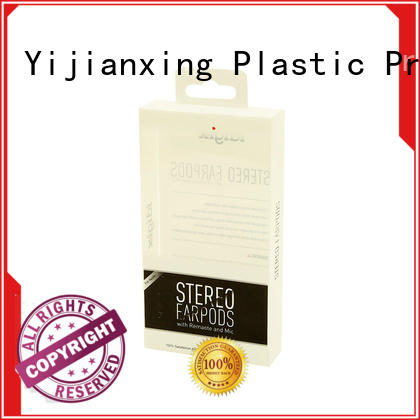 Yijianxing Plastic Products Brand silver line grade custom plastic packaging