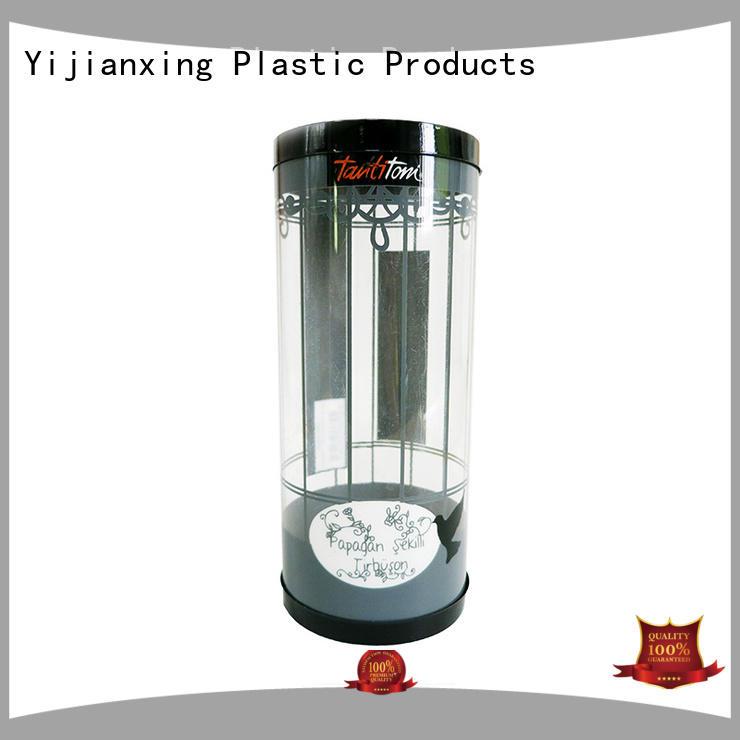 box printed pink plastic tube packaging Yijianxing Plastic Products Brand