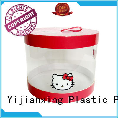 cover plastic gift boxes wholesale at discount for candy Yijianxing Plastic Products