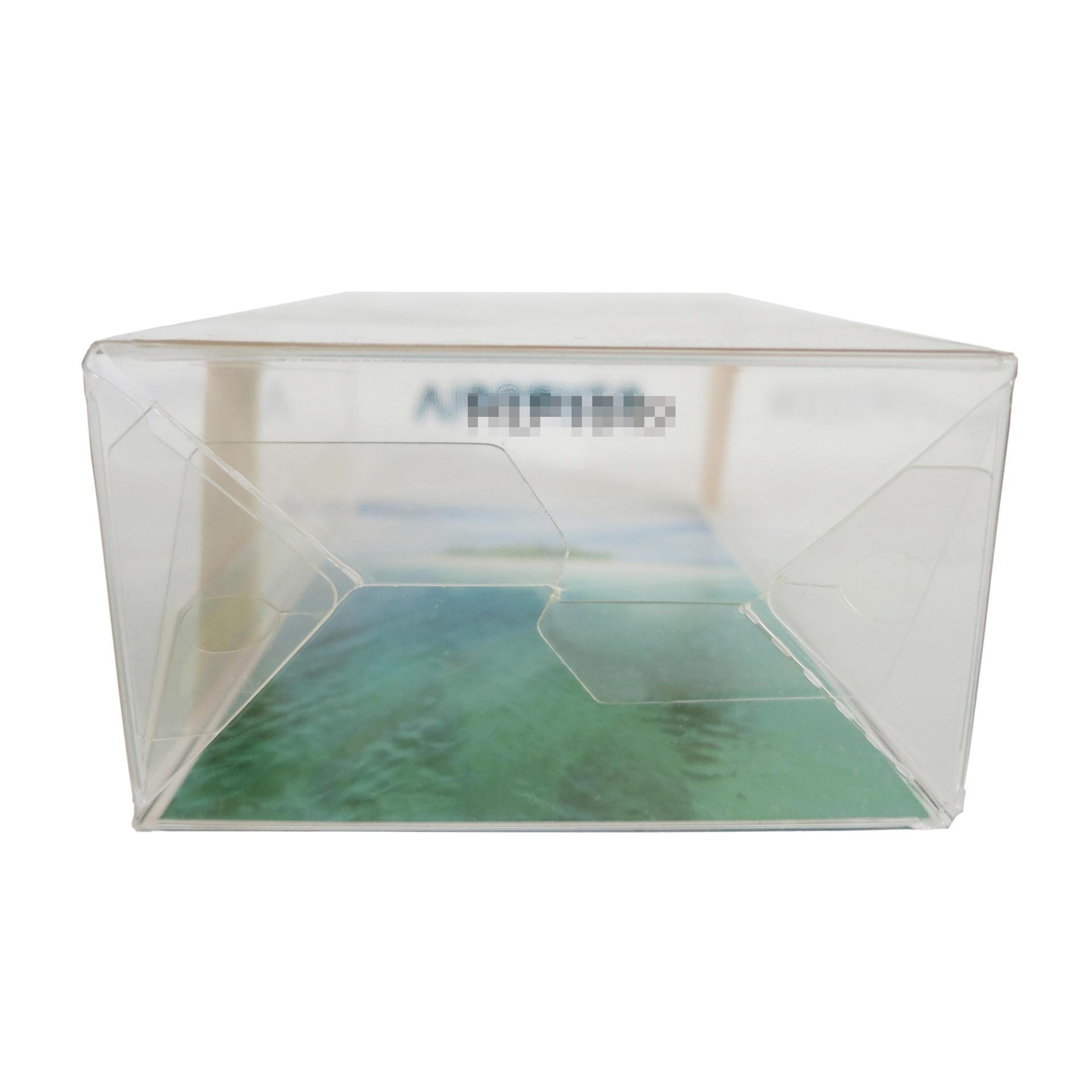 Inside & Outside Printing Plastic Auto-Lock Bottom Packaging Box