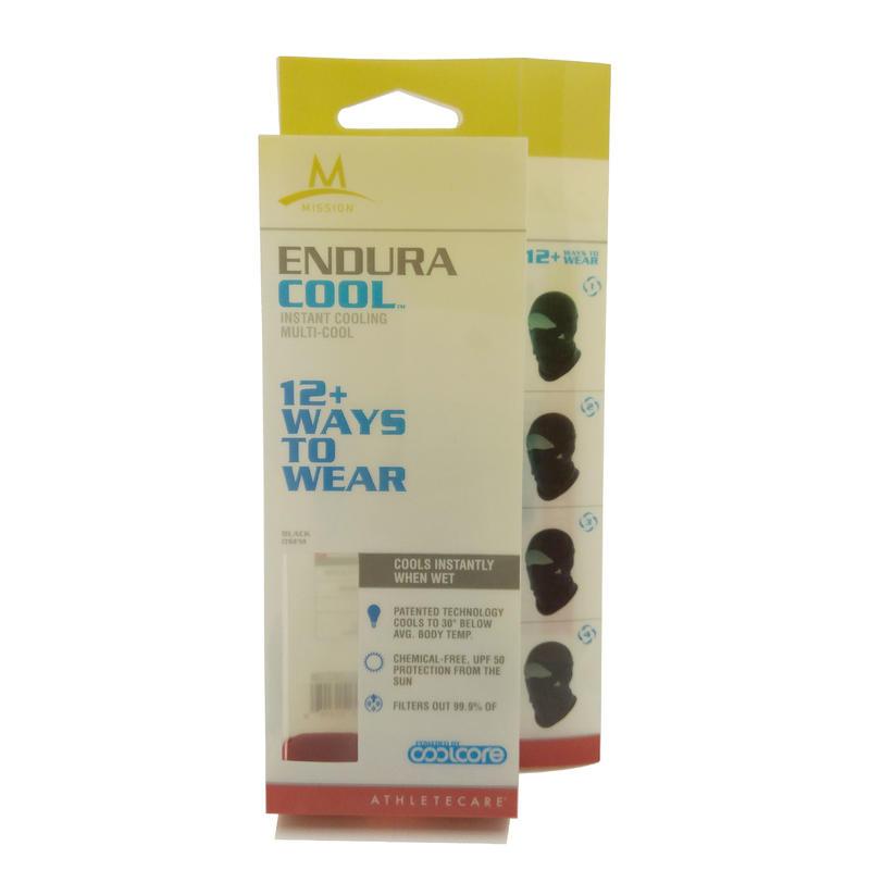 Customized Full Color Printing Plastic Retail Packaging for Helmet Liner Mask