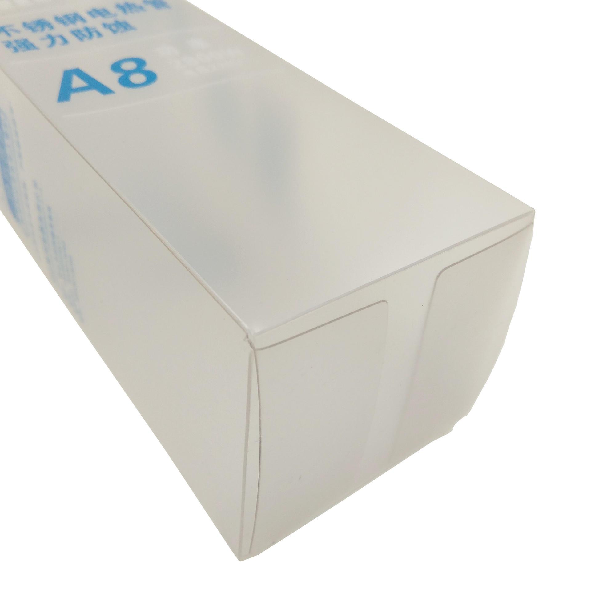 Custom Plastic Packaging Box with Matt Lamination on Surface