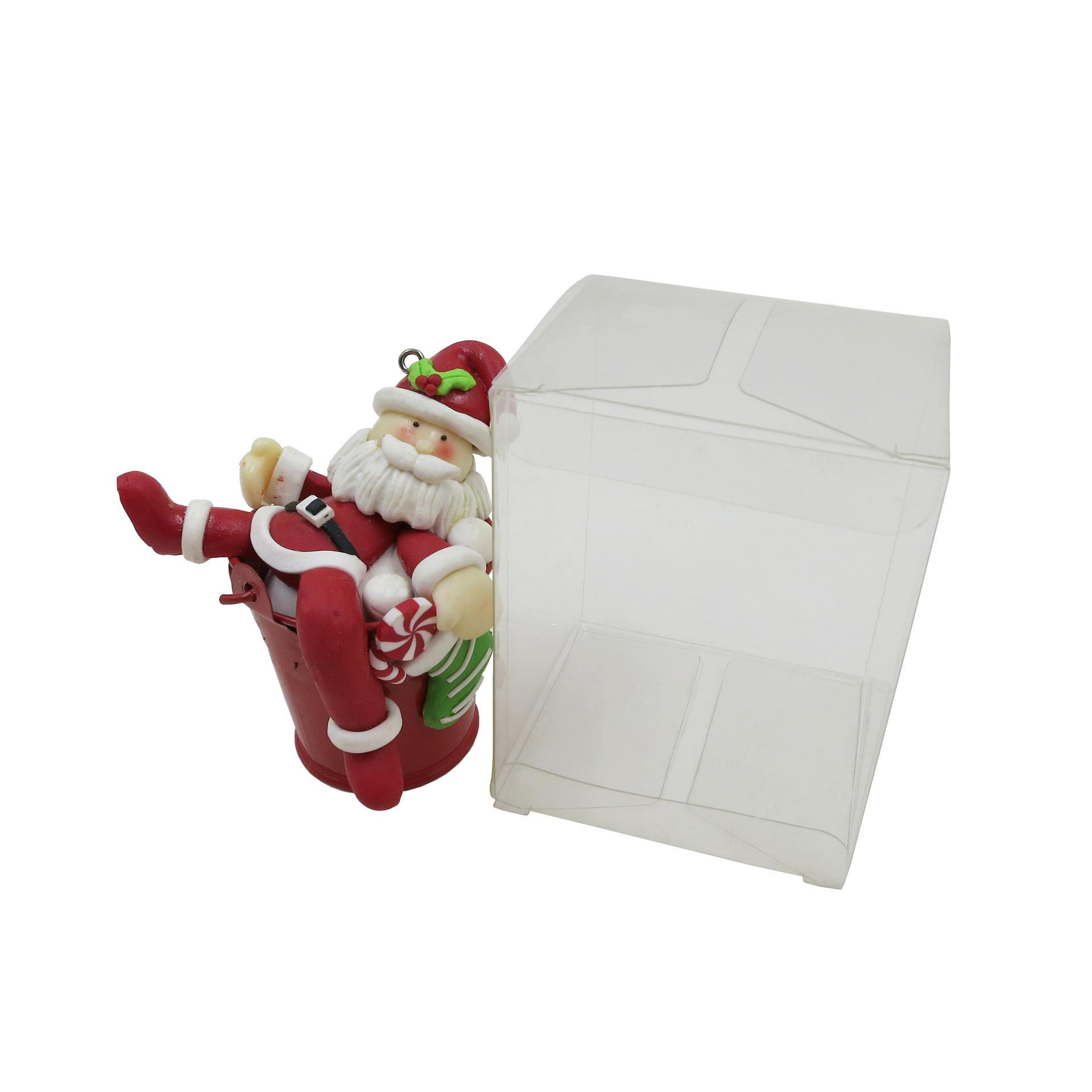 Square Clear Folding PVC Transparent Plastic Box