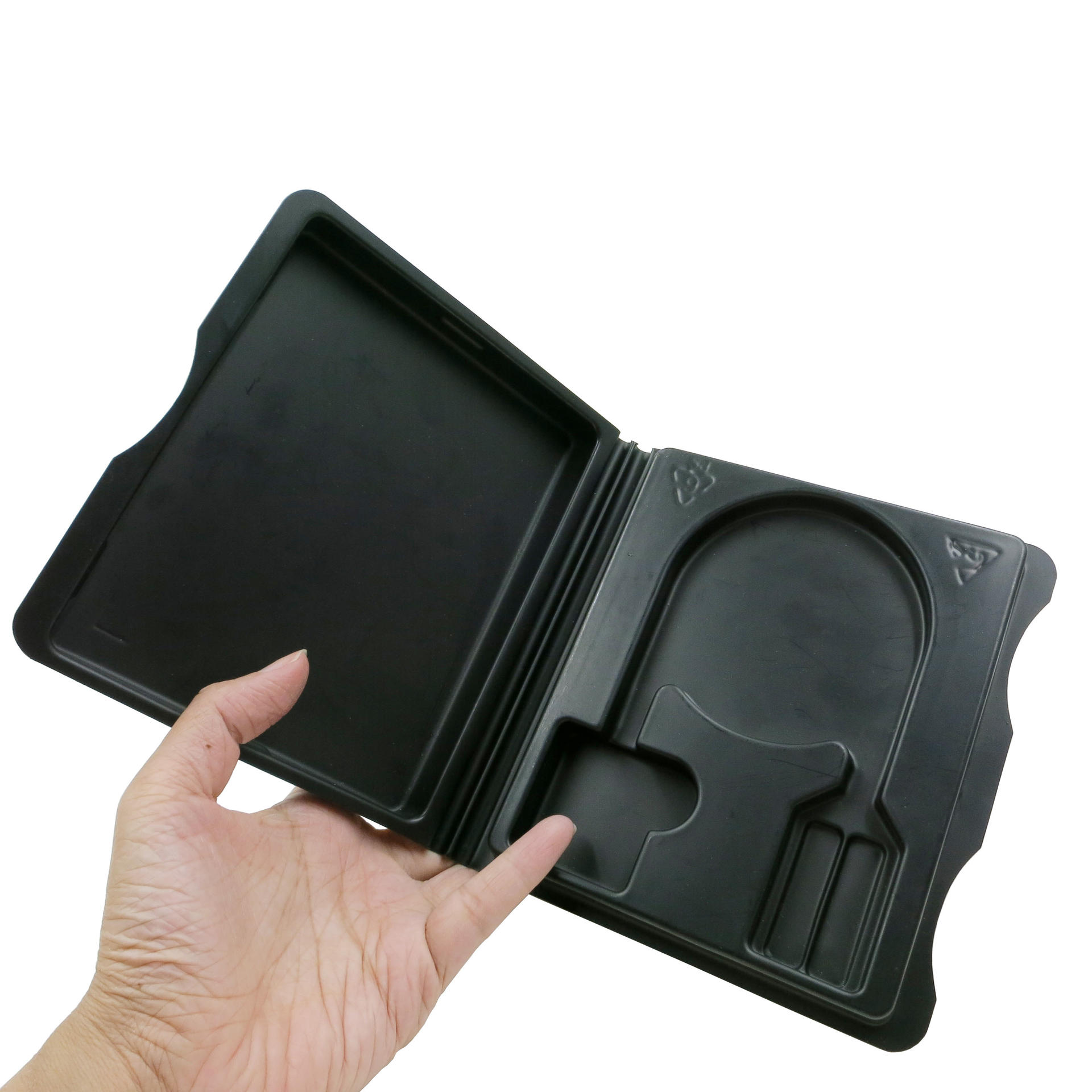 Matte Black Plastic Vacuum Forming Packaging Box