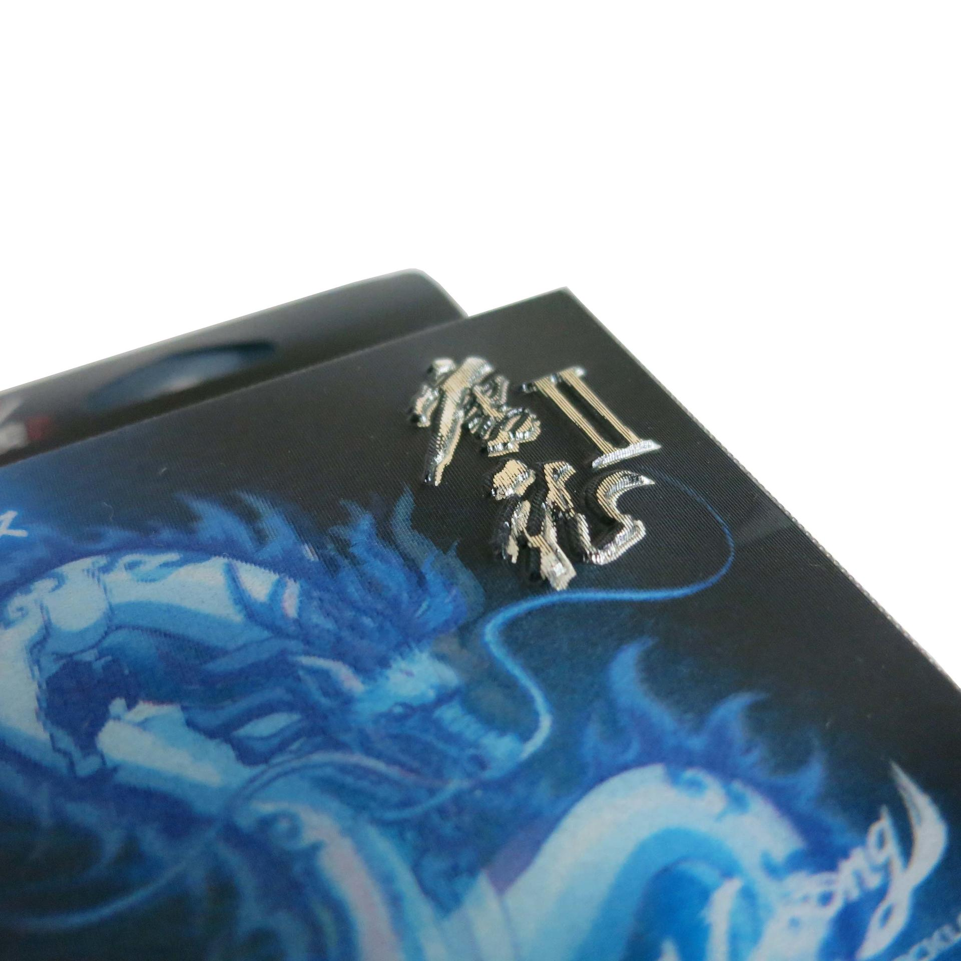 Custom Printed PET Plastic Box with Three-dimensional & Embossing Handling